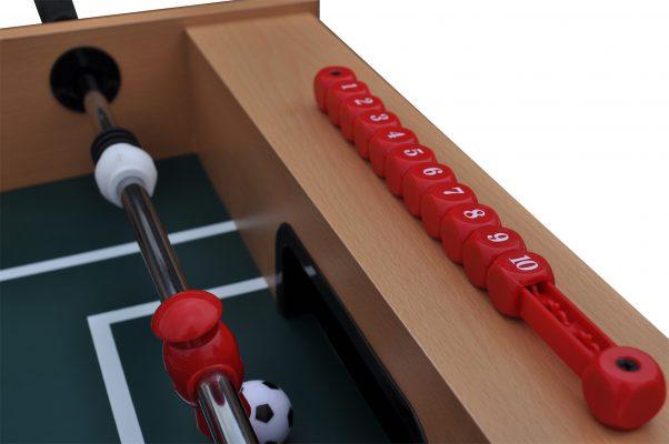 Gamesson Foosball Midfielder närbild räknare