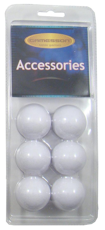 Bollar vita 6pack i förpackning